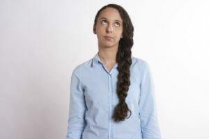Cómo muestran las mujeres su desinterés
