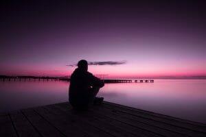 tristeza y soledad